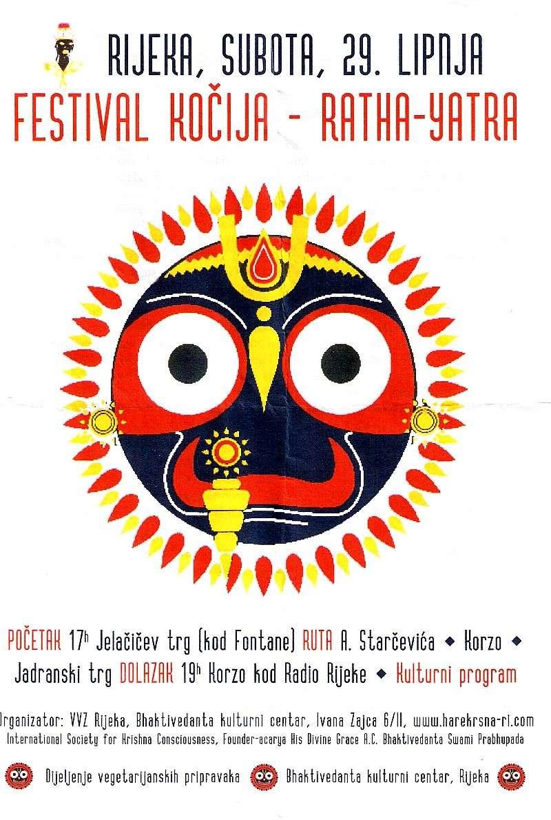 Ratha Yatra - Festival kočija