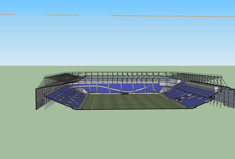 Stadium Design Plan Stadium Design
