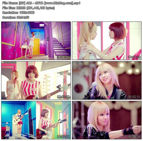 [MV] AOA   MOYA [HD 1080p Youtube]