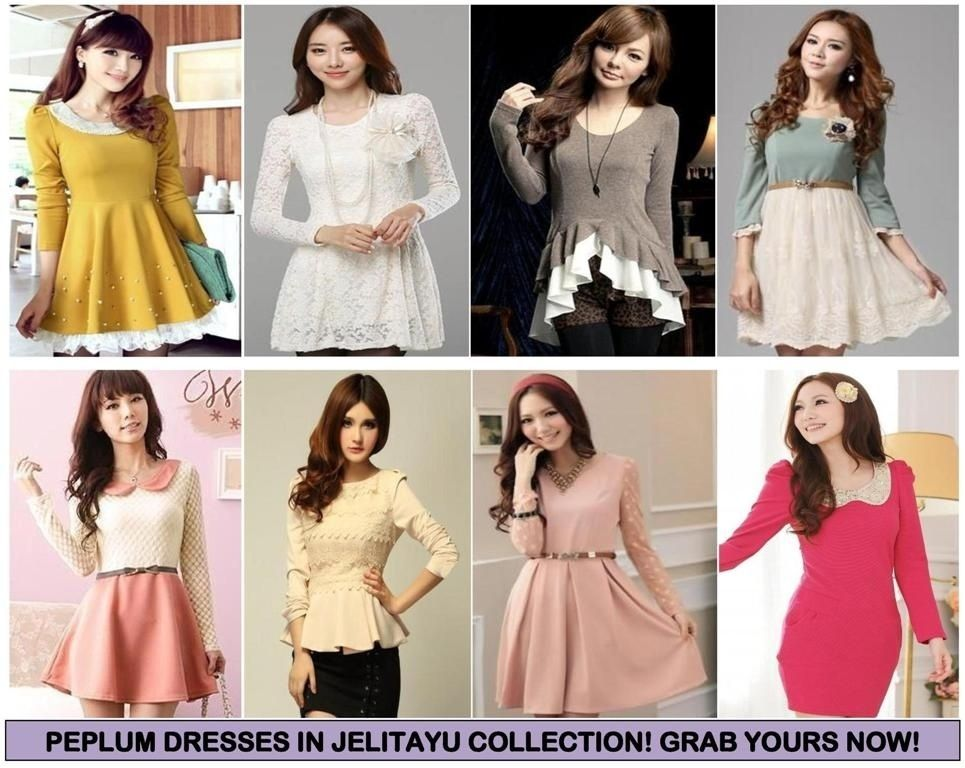 picture below to see our peplum dresses and blouses collection peplum