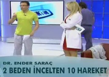 İki beden incelten on hareket
