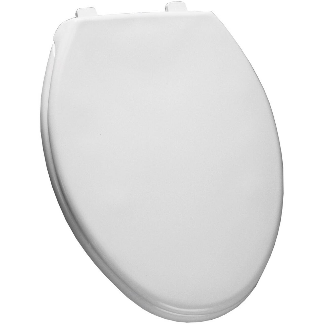 Church Bemis 380TCA 000 Elongated Toilet Seat With Cover White
