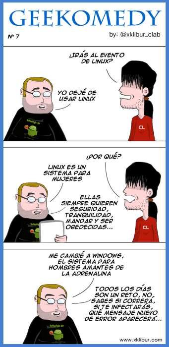 comic linux