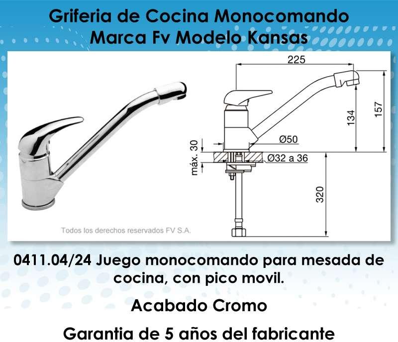 El aviso ha expirado 602291797 precio d argentina for Griferia para cocina monocomando