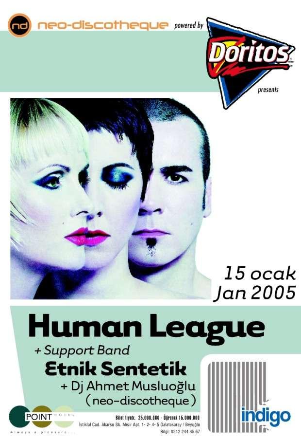 NeoDiscotheque Human League