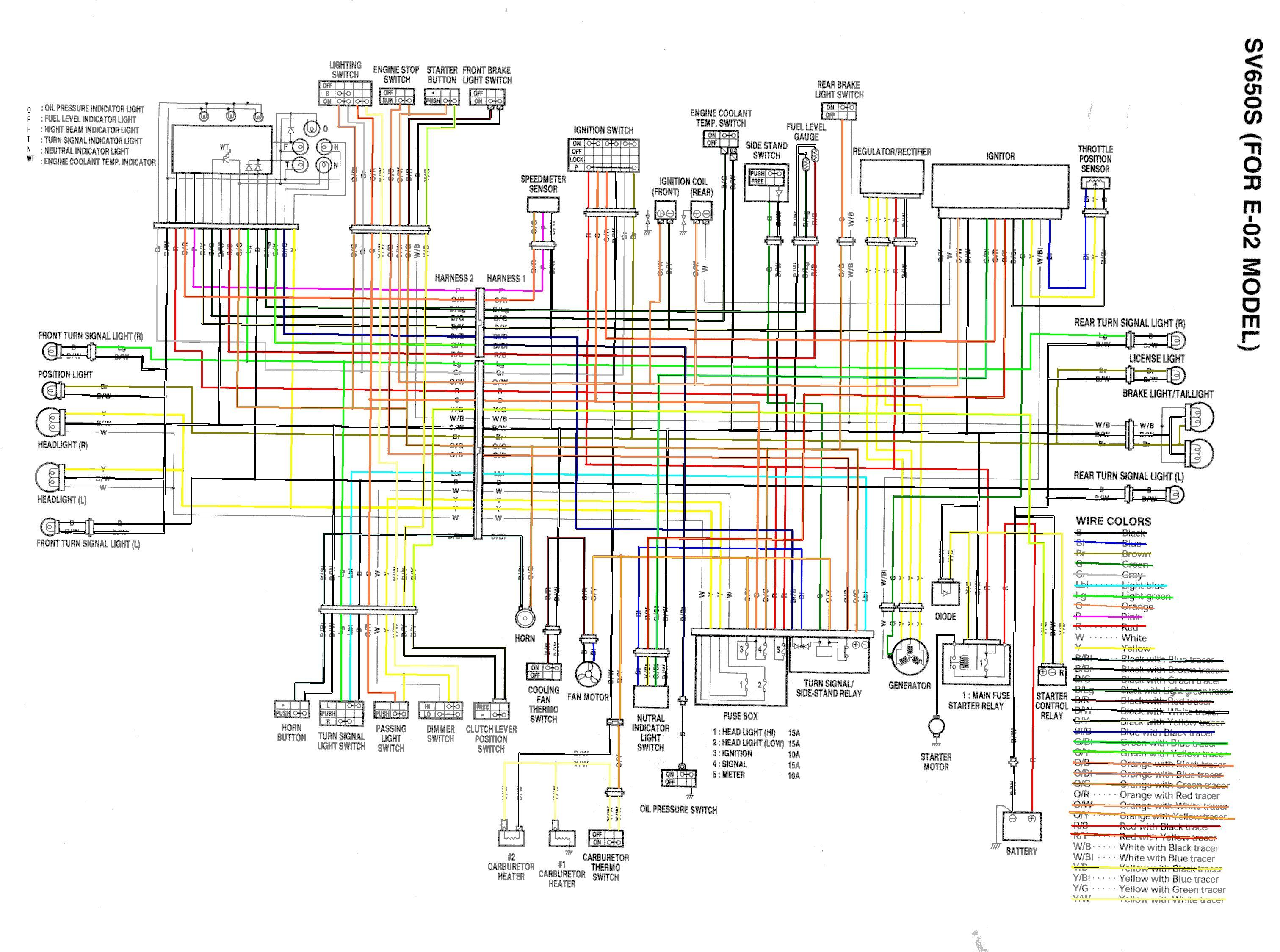 2007 Sv650 Wiring Diagram Everything About Yamaha Outboard Ignition Library Rh 69 Muehlwald De Suzuki Electrical Gsxr