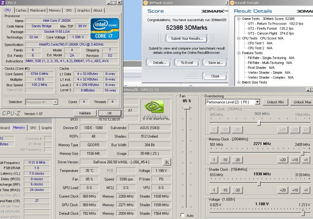 GTX580: 1 025VID: 950/1900/2300: stock cooler: guaranteed